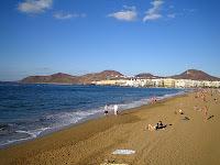 Playa de las Canteras. Las Palmas