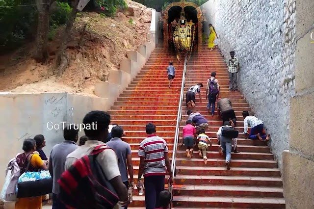 శ్రీవారి ఆలయం - నడకదారులు
