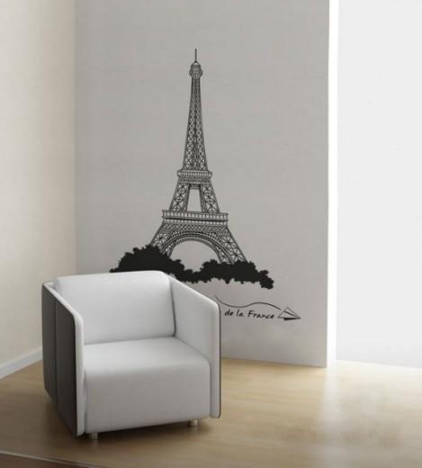 FASHION DESIGN: Eiffel Tower WALL ART DECOR - Paris Room Dcor