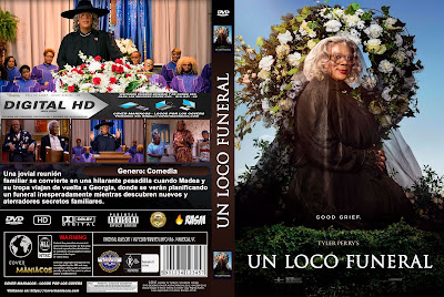 CARATULA UN LOCO FUNERAL - TYLER PERRY´S A MADEA FAMILY FUNERAL - 2019 [COVER DVD]