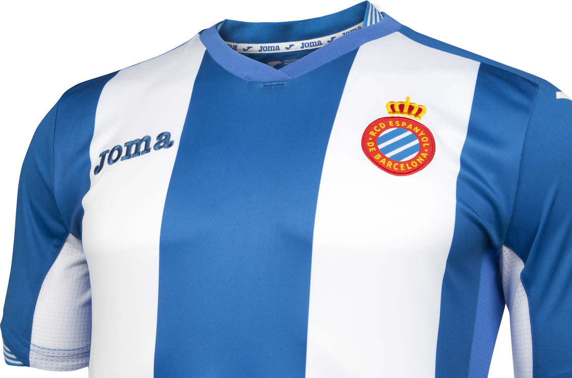 Espanyol Barcelona and new kit supplier Joma have unveiled the new Espanyol  15-16 Home and Away Kits with a special presentation show at the Olympic ... 428e1547f