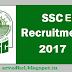 SSC Eastern Region Recruitment 2017