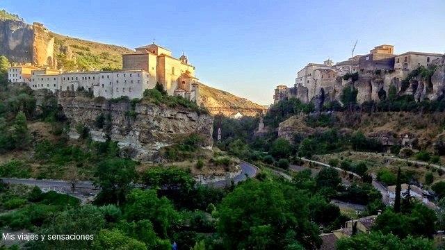Hoz del Huécar, Convento de San Pablo y Parador de Turismo, Cuenca