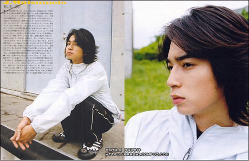 Jun Matsumoto - KOSE FASIO (コーセー ファシオ) eyebrow mascara [CF ...  |Gokusen Jun