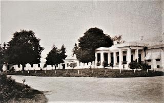 Dwór w Tahańczy - lata 90. XIX wieku