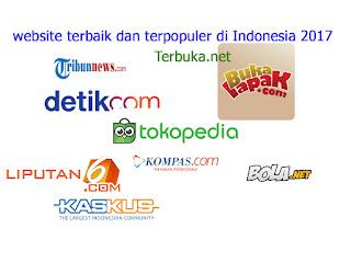 website paling populer di Indonesia