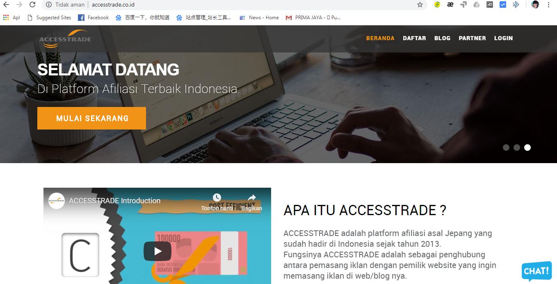 Cara Bergabung Menjadi Affiliate Publisher Iklan Accesstrade