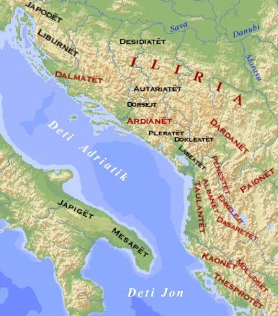 Ilirët, Trualli historik i ilirëve