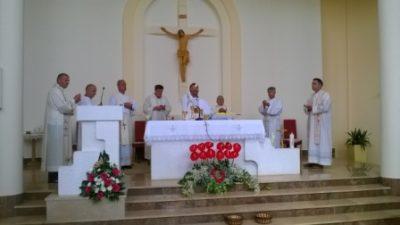 Proslavljen patron župe - Presveto Srce Isusovo