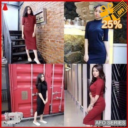 AFO018 Model Fashion Clareta Dress Modis Murah BMGShop