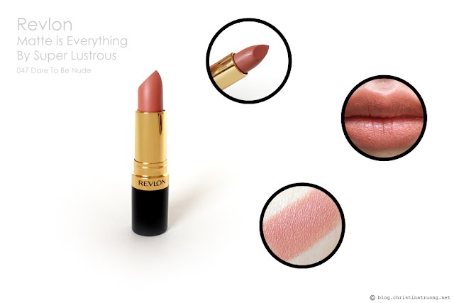Revlon Matte Is Everything by Super Lustrous 047 Dare To Be Nude Review Swatch