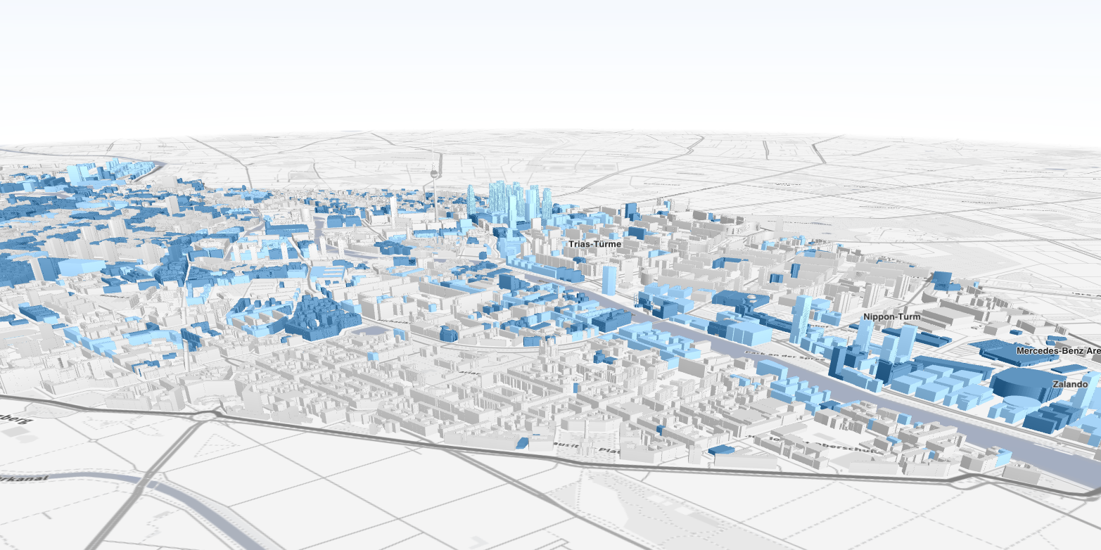 OSM Buildings: November 2015