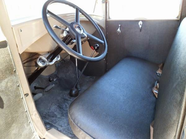 1930 Ford Model A Closed Cab Pickup Auto Restorationice