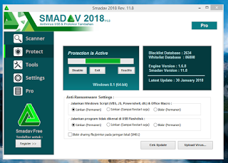 Smadav 2018 v11.8 Exe Has been Released - Download Now For Free