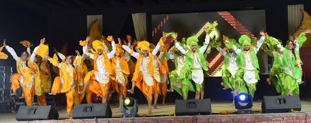 Elements Kalamayka-2012 'contains the sounds of songs-music, bhangra and dance-drama