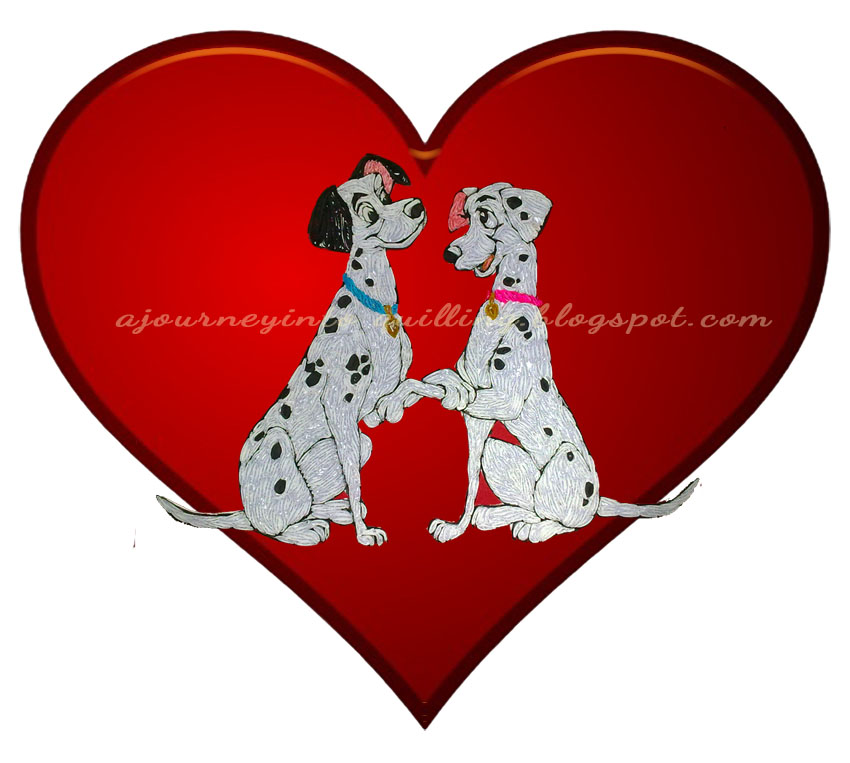 A Journey into Quilling & Paper Crafting: Happy Valentine ...