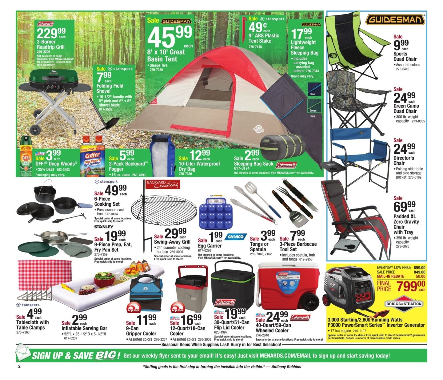 Menards Weekly Sale Ad May 19 June 2 2019