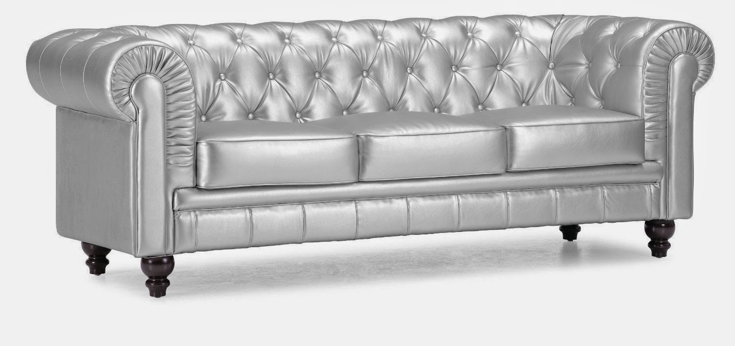 Chesterfield sofa leather chesterfield sofa for Sofas de piel modernos