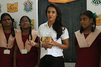 Actress Priya Anand in T Shirt with Students of Shiksha Movement Events 48.jpg