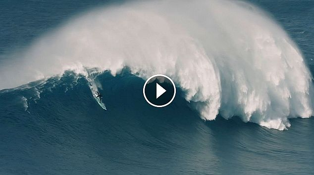 Towing into Big Wave Bombs at XXL Nazaré Sessions