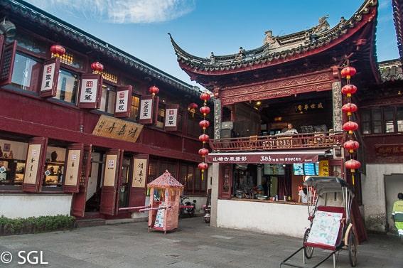 Suzhou, centro historico. China