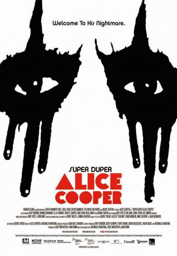 Super Duper Alice Cooper - copertina documentario