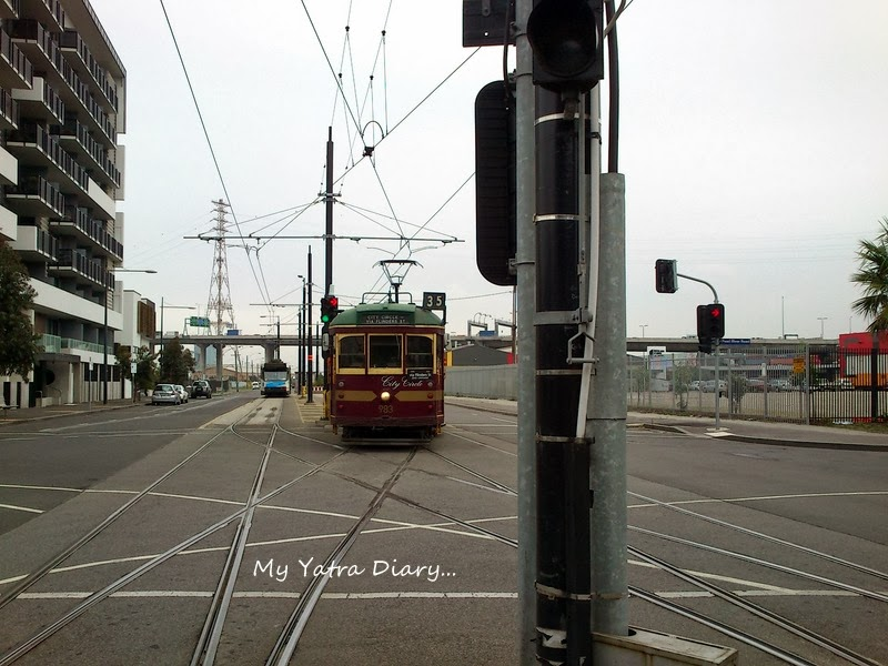 City circle free tram, Melbourne