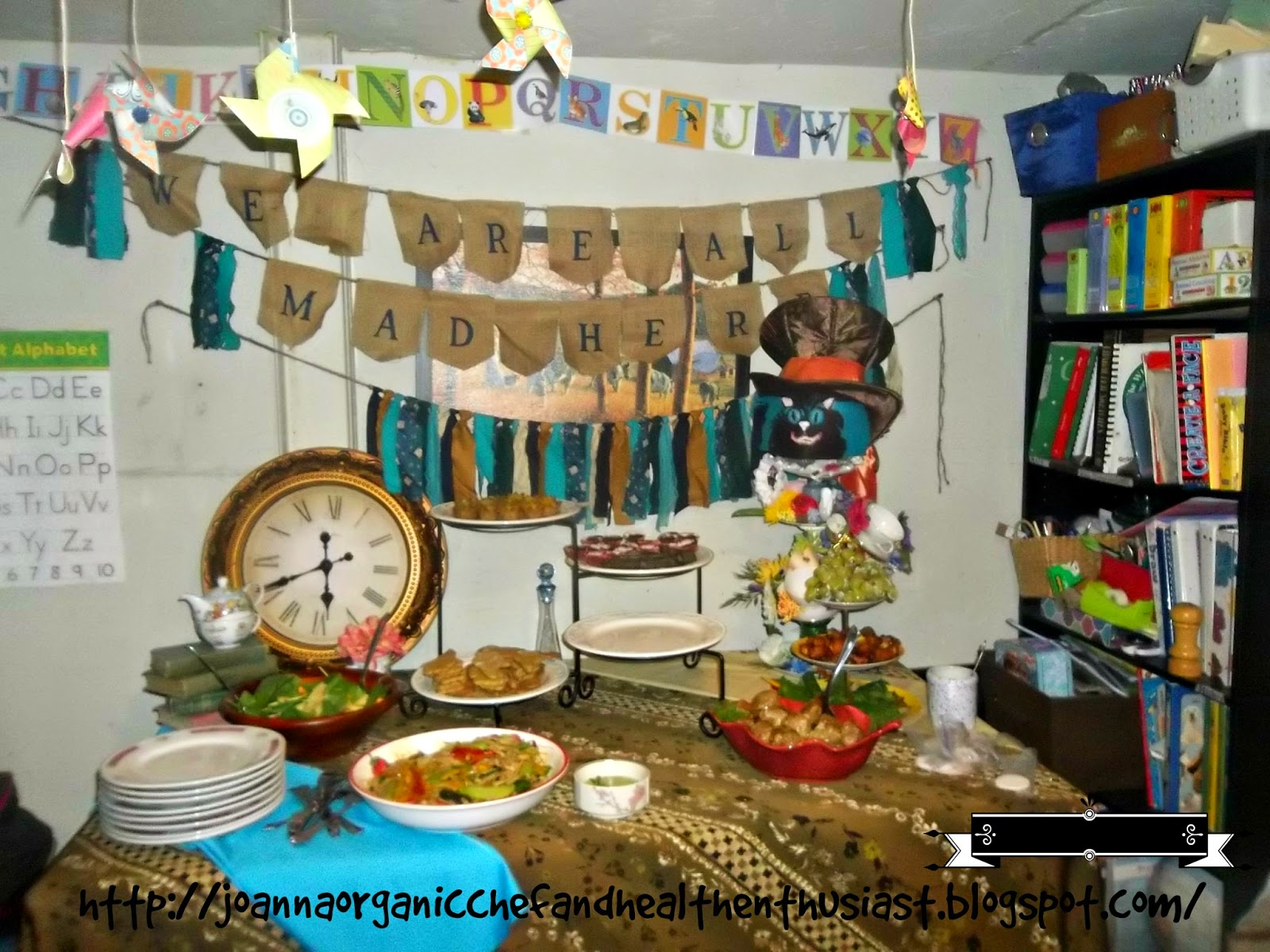A Glimpse Of The Mad Hatter Tea Party Baby Shower I Hosted Last Weekend