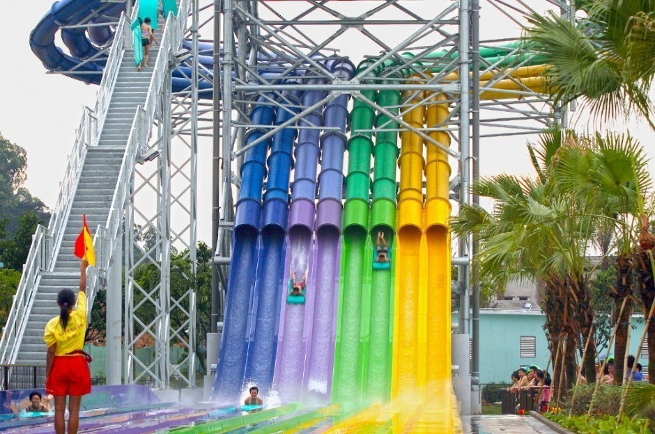 #12. Head-first Racer, China - The World's 25 Scariest Waterslides… I'm Surprised #6 Is Even Legal.