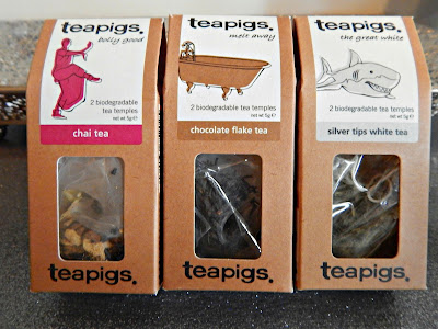 teapigs tea-chai, chocolate flake, silver tips// thehollypaige.blogspot.com