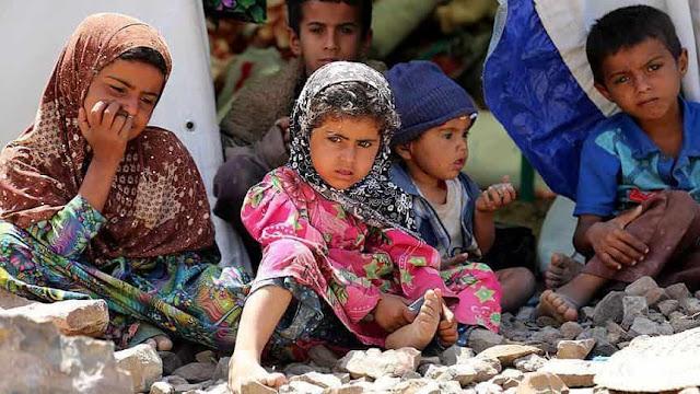 85.000 Anak-anak Yaman Mati Kelaparan Akibat Invasi Arab Saudi