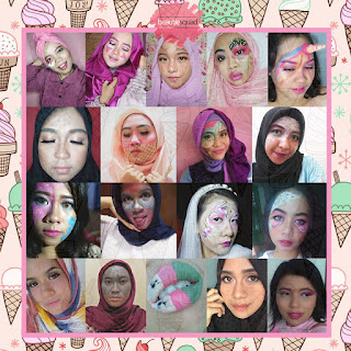 Ice Cream Make Up Inspired collaboration X Beautiesquad