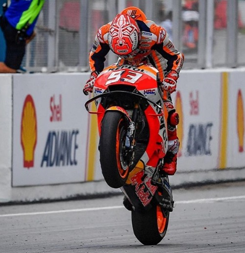 Marc Marquez Keluar sebagai Juara GP Malaysia