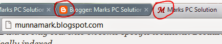 Favicon in the Browser Tabs