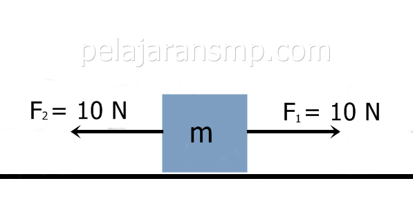Ulangan Harian Materi Gaya Gesek, Gaya Berat, Resultan Gaya, dan Hukum Newton Beserta Kunci Jawaban IPA SMP Part 2