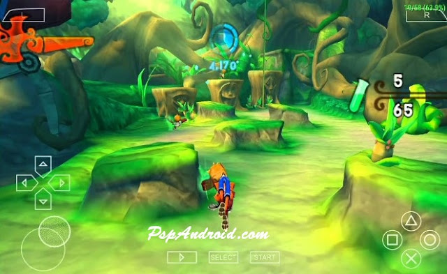 Crash Of The Titans PPSSPP