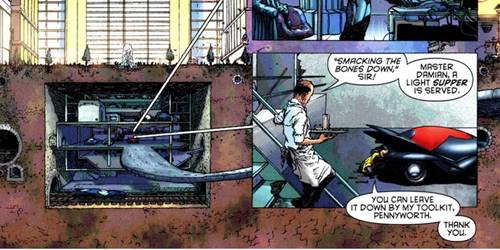 macam macam markas superhero batman