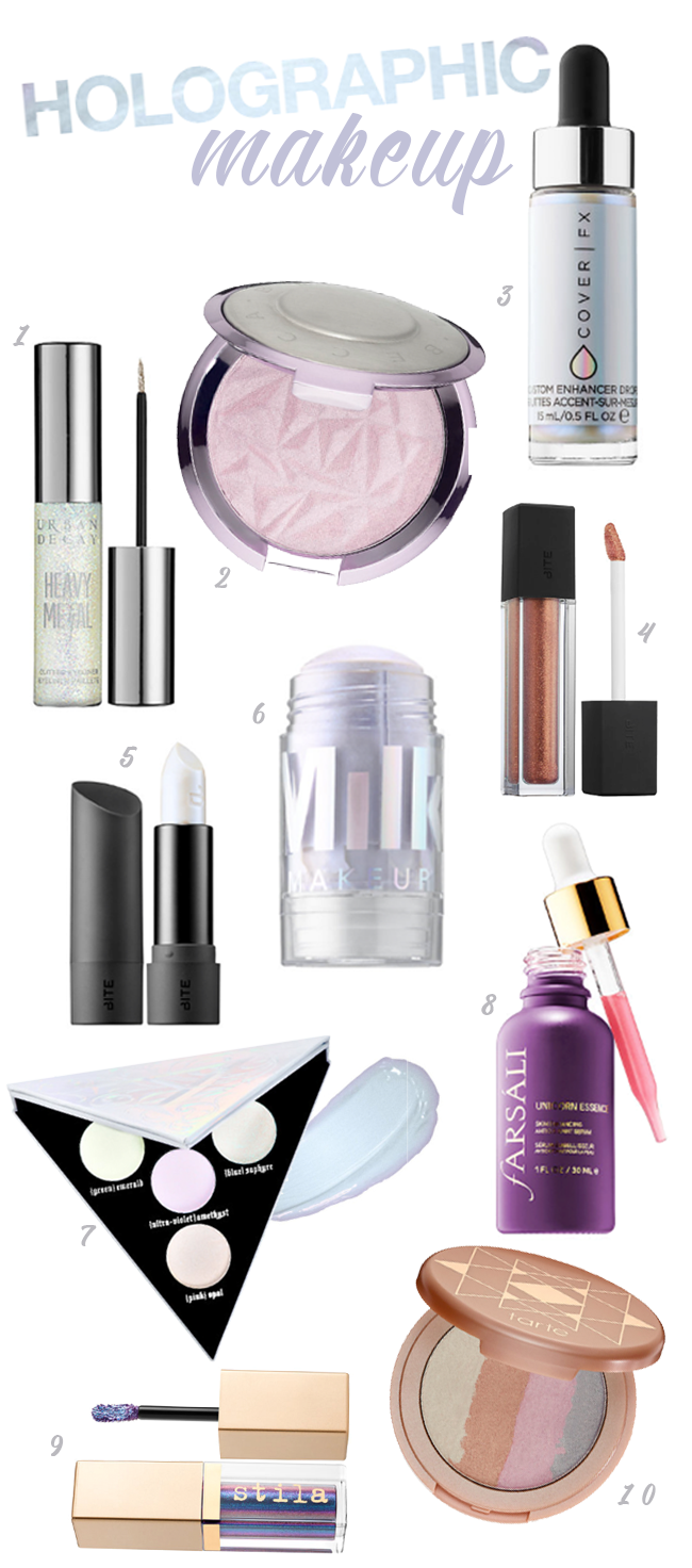 Holographic Makeup Must-Haves from Sephora