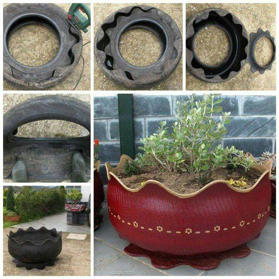Amudu wealth from waste tires for Waste to wealth ideas