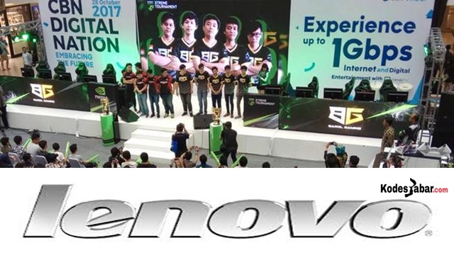 Lenovo Jadi Sponsor Utama NVIDIA Gamers di CBN DIgital Nation 2017