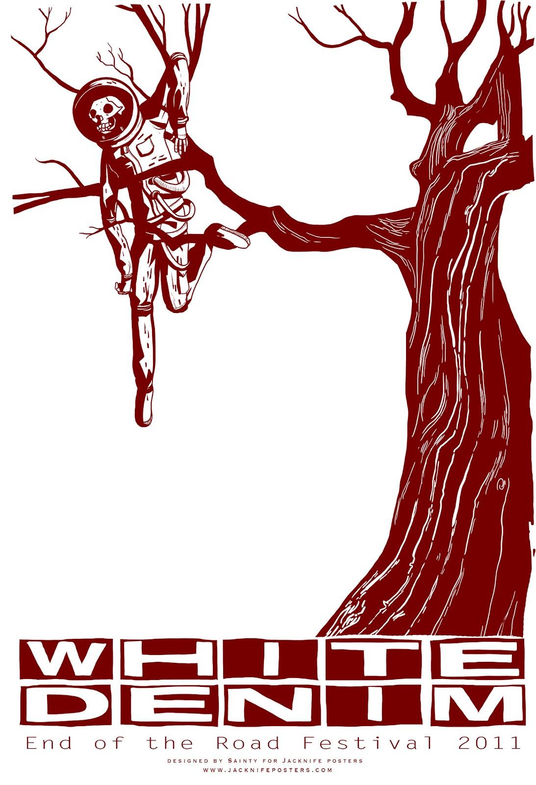 Crewkoos Rock Poster Artists Interviews: Jacknife Posters (UK)