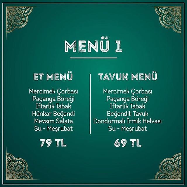 lokma iftar menüsü 2019 istanbul lokma ramazan menüsü lokma restaurant menü fiyatları