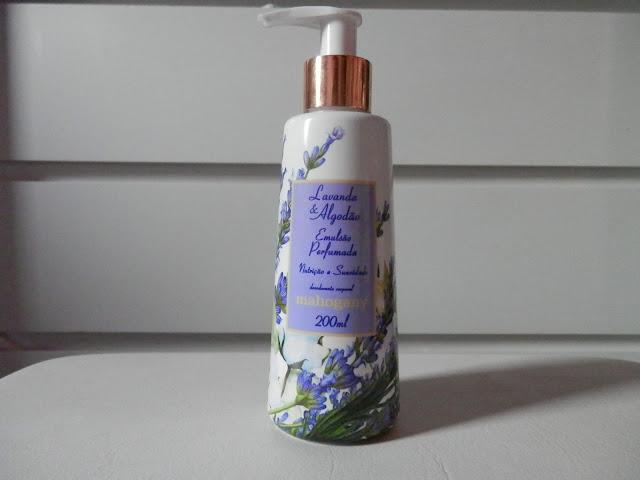 Resenha: Desodorante corporal Lavanda & Algodão da Mahogany