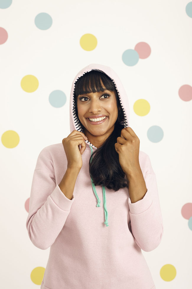 Stella hoodie + joggers - sewing patterns from Stretch book - Tilly and the Buttons