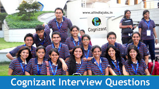 Cognizant Interview Questions
