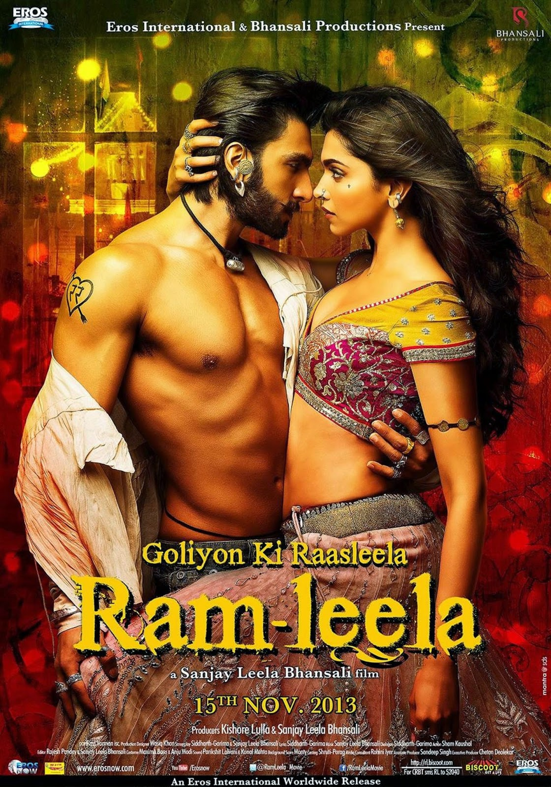 Latest bollywood mp3 songs: free download ramleela (2013) hindi.