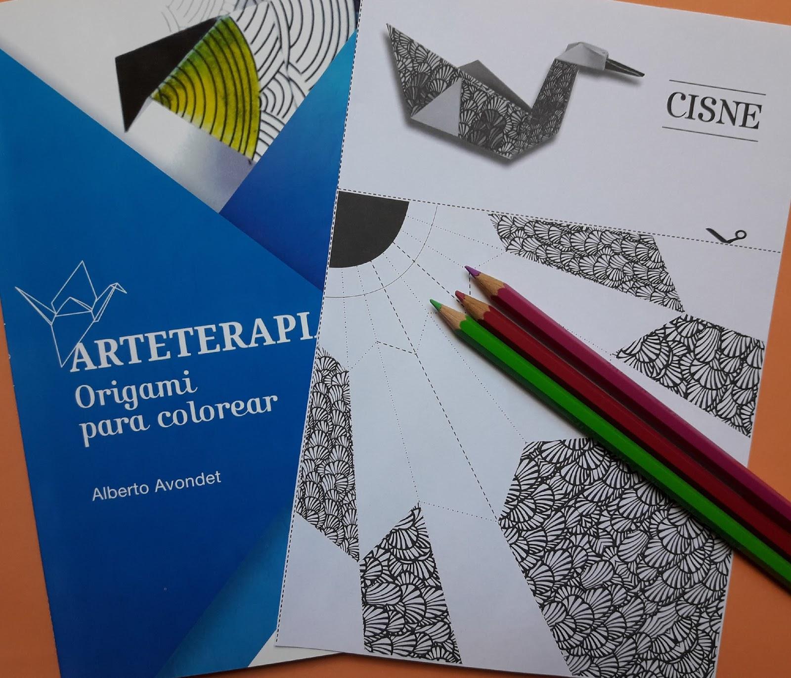 ARTETERAPIA - Origami Para Colorear / Orimasu