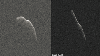 Huge Asteroid Skirts Earth On Christmas Eve
