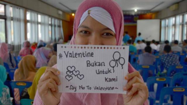 tak ada valentine di indonesia dan aceh
