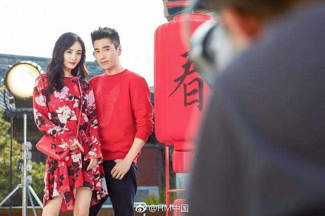 Mark Chao Yang Mi H&M China